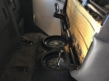 Installed with Seats Flipped Forward