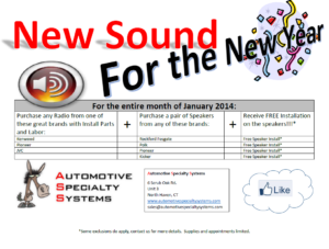 New Sound for the New Year Promo